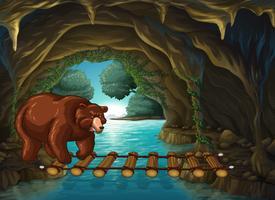 Grizzly Bear dans la grotte