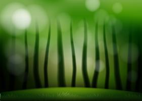 Un fond vert naturel vecteur