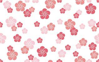 Modèle traditionnel japonais, illustration vectorielle continue. vecteur