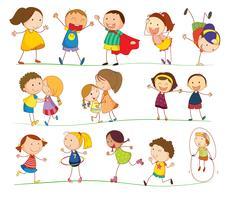 Enfants simples