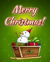 joyeux Noël vecteur