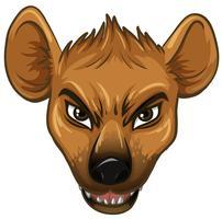 Hyène vecteur