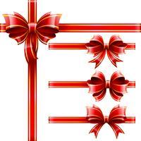 Baws cadeau rouge vecteur