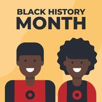 Homme noir et femme avatar