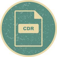 icône de vecteur cdr