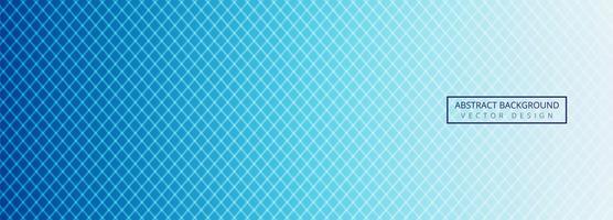 Modèle d'en-tête de lignes géométriques bleues modernes vecteur