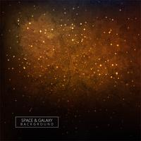 Étoiles d'une planète et de la galaxie dans un fond coloré d'espace libre