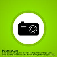 icône de caméra vectorielle
