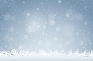 Un fond de flocon de neige blanc
