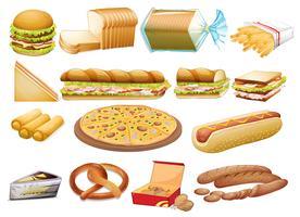 Aliments vecteur