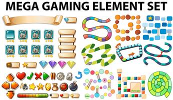 Éléments de jeu et modèle vecteur