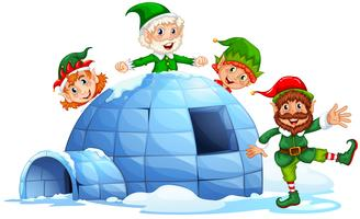 Igloo et elfes