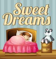 Doux rêve vecteur