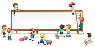 enfants de la construction