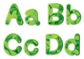 alphabets vecteur