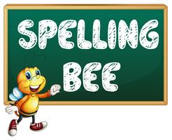 Abeille d'orthographe