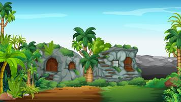 Stonehouse dans le champ vecteur