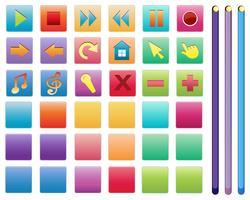 Différents symboles vecteur