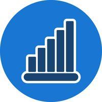 Icône de statistiques vectorielles vecteur