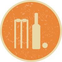 Illustration vectorielle de cricket