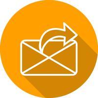 Icône d'envoi de message vectoriel