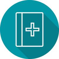 Icône de livre médical Vector