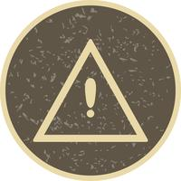 Vector Autres dangers Icône de panneau de signalisation