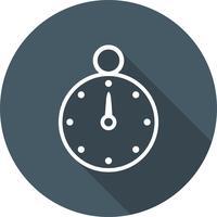 Icône de chronomètre de vecteur