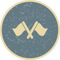 Course icône illustration vectorielle