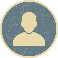 Avatar icône illustration vectorielle vecteur