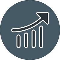 Icône de performance de référencement vectoriel
