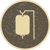 Icône d'égouttement de vecteur