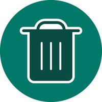 ordures icône illustration vectorielle