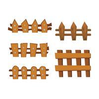 conception de collection de vecteur de clôture