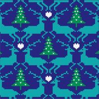 rennes nordiques en tricot