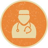 Icône de médecin de vecteur