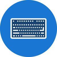 Icône de clavier de vecteur