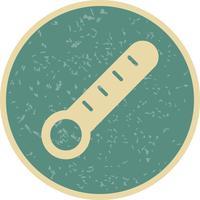 Icône de thermomètre de vecteur