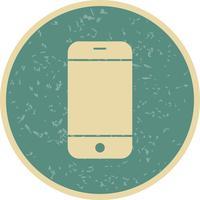 Téléphone cellulaire icône illustration vectorielle