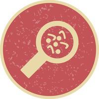 Icône de bactéries vectorielles