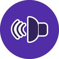 Illustration vectorielle icône sonore