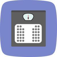 Icône de machine de pondération de vecteur