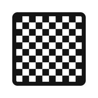 Illustration vectorielle d'échecs icône
