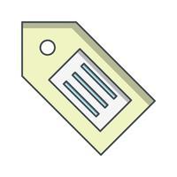 Tag icône illustration vectorielle