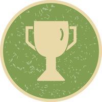 Trophée Icône Vector Illustration