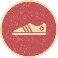 Illustration vectorielle de chaussures icône vecteur