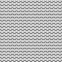 Seamless Pattern avec des lignes de vagues lisses vecteur