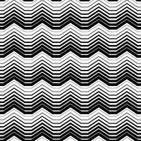 Modèle sans couture abstrait monochrome vecteur