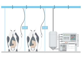 produit laitier industriel et transformation du lait avec la technologie de l'usine
