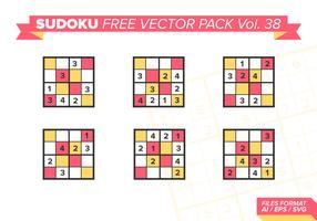 Sudoku Vecteur Libre Pack Vol. 38